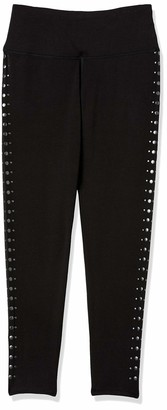 Tribal Women's Legging Pull on Studs Grommets Stretch