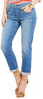 7 For All Mankind Josefina Boyfriend Vivid Authentic Blue Jeans