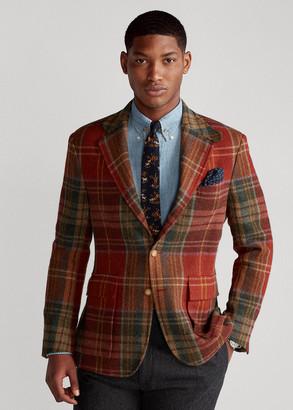 Ralph Lauren The RL67 Plaid Tweed Jacket
