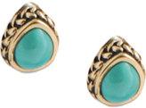 Barse Women's Bronze/Turquoise Earring BASIE35T01B