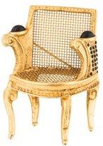 Karl Lagerfeld Chair Brooch