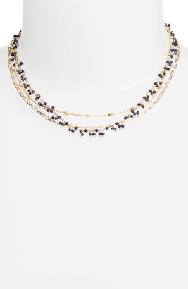 ela rae Multistrand Collar Necklace