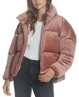 Vigoss Velvet Puffer Jacket