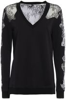 McQ Lace Panelled Sweatshirt