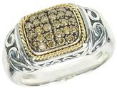 Effy Jewelry Effy 925 Cognac Diamond Ring, .35 TCW