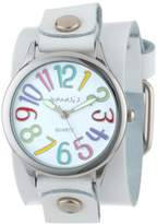 Nemesis Women's WGB108W Colorful Different Color Numbers Watch