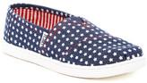 Toms Americana Chambray Stars Slip-On Shoe (Little Kid & Big Kid)