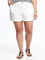 "Old Navy Mid-Rise Plus-Size Twill Shorts (5"")"