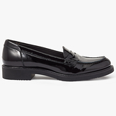 John Lewis Galia Slip On Loafers, Black