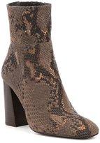 Free People Nolita Snake-Print Boots