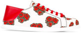 Alexander McQueen poppy print sneakers - women - Calf Leather/Canvas/rubber - 36.5