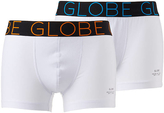 Globe Lindros 2 Pack Jersey Boxer White