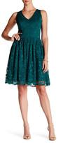 Taylor Sleeveless V-Neck Lace Dress