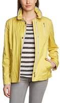 Gil Bret Women's Casual Looks Long Sleeve Jacket - Yellow -