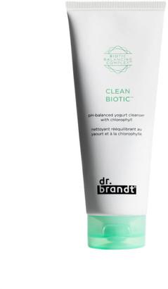 Dr. Brandt Skincare Clean Biotic pH Balanced Yogurt Cleanser with Chlorophyll 100ml
