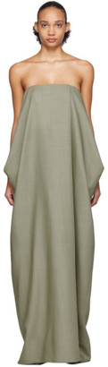 The Row Green Lu Dress