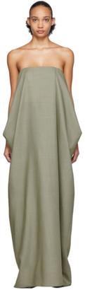 The Row Green Lu Dress