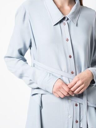 Sies Marjan Shawl Shirt Dress