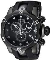 Invicta Men's 6051 Venom Reserve Stainless Steel Watch with Polyurethane Band