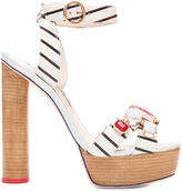 Sophia Webster Amanda Gem Nautical Heel