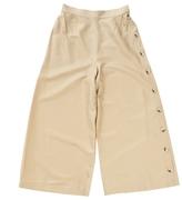 Valentino Beige Cotton Trousers