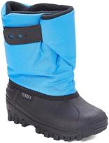 Tundra Powder Blue Teddy Snow Boot