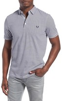 Fred Perry Men's Extra Trim Fit Stripe Jersey Polo