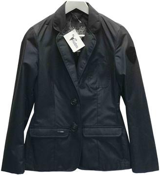 Nobis Blue Cotton Jacket for Women