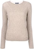 Woolrich knitted T-shirt - women - Silk/Polyamide/Viscose/Wool - M