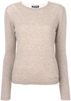Woolrich knitted T-shirt - women - Silk/Polyamide/Viscose/Wool - S