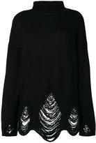 IRO ladder stitch turtleneck sweater