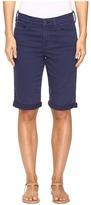 NYDJ Briella Roll Cuff Shorts in Republique Navy Women's Shorts