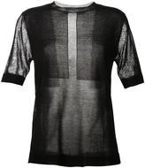 Dion Lee 'Glass' fine knit top - women - Nylon/Rayon - 8