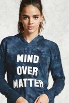 Forever 21 Active Mind Over Matter Hoodie