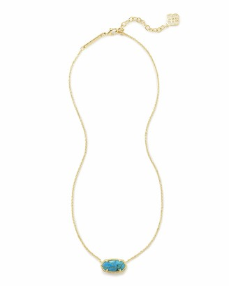 Kendra Scott Elisa Pendant Necklace for Women Fashion Jewelry 14k Gold Plated