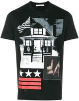 Givenchy Cuban-fit L.A. printed T-shirt