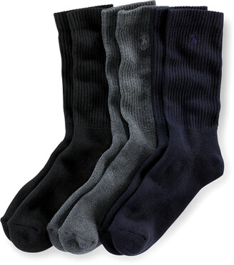 Ralph Lauren Crew Sock 3-Pack