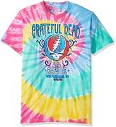 Liquid Blue Men's Grateful Dead Amer Music Hall Spiral Tie Dye T-Shirt