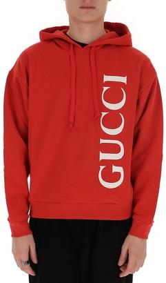 Gucci Logo Printed Hoodie