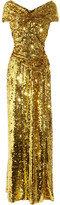 Vivienne Westwood Gold Label Long Glazing metallic sequined gown