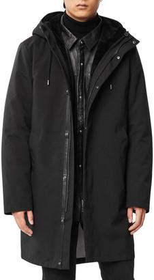 Mackage Men's Vincent 3-In-1 Topcoat w/ Leather Liner