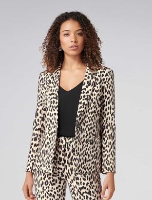 Forever New Donatella Blazer - Summer Leopard - 4