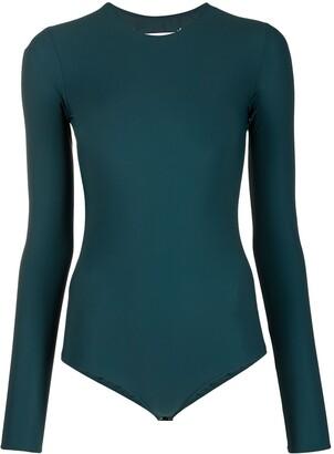 Maison Margiela Long-Sleeved Bodysuit