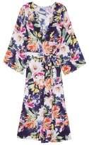 Plum Pretty Sugar Women's Long Floral Kimono Robe