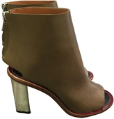 Celine Ankle Leather Boots