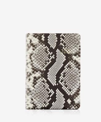 GiGi New York 2020 Notebook, Natural Italian Printed Python