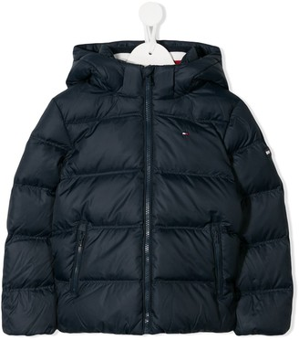 Tommy Hilfiger Junior Padded Hooded Jacket
