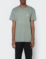 Obey New Times Micro Tee in Light Army