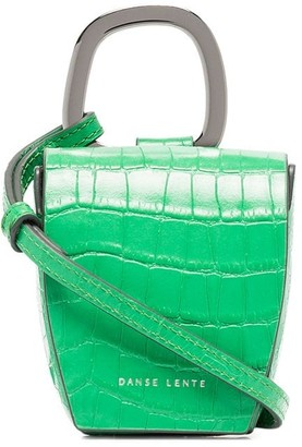 Danse Lente Pablo crocodile-effect mini bag