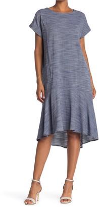Mermaid High/Low Pocket T-Shirt Dress